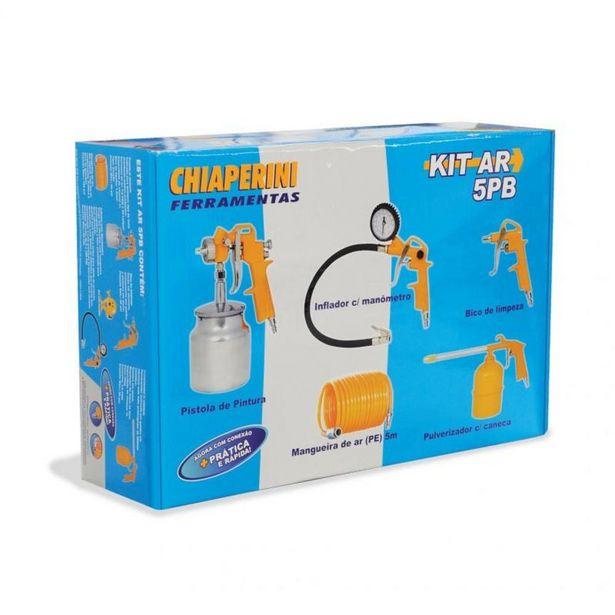 Oferta de Kit de Acessórios Para Compressor de Ar Com 5 Peças - KIT AR 5PB - Chiaperini por R$313,25