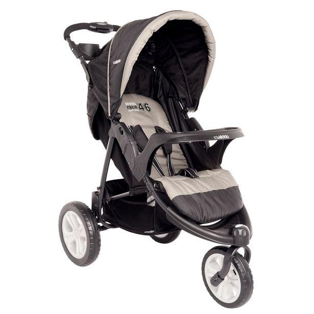Oferta de Carrinho de Bebê Lenox Fox Com Bandeja Preto por R$559