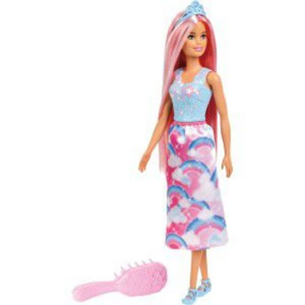 Oferta de Barbie FAN Penteados Magicos por R$99,99
