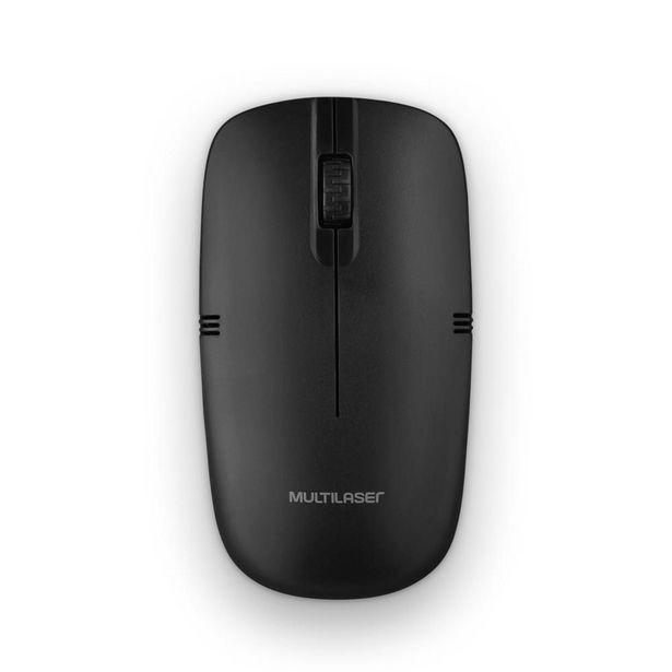 Oferta de Mouse Sem Fio 2.4GHZ 1200 DPI Usb Preto - MO285 MO285 por R$31,9