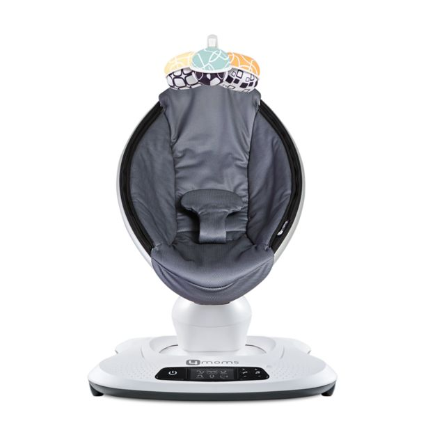 Oferta de Cadeira de Descanso Mamaroo 4.0 - Grey Mesh - 4moms por R$2799