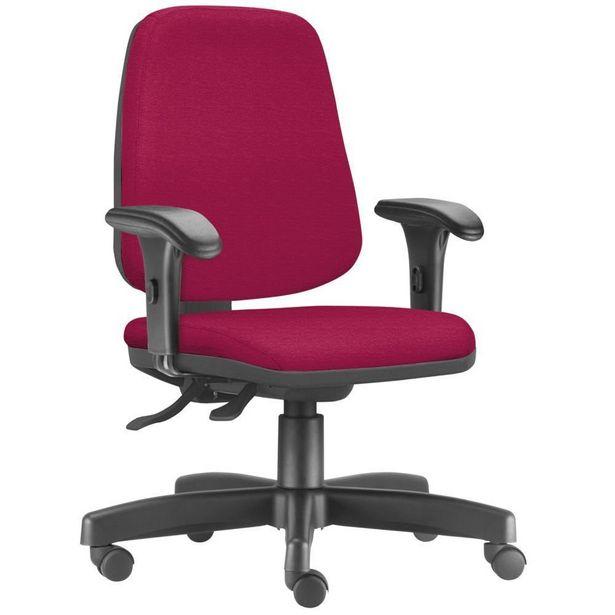 Oferta de Cadeira Giratória Job Diretor Executiva Suede Pink - Lyam Decor por R$649,9