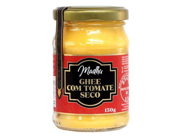 Oferta de Ghee Com Tomate Seco Sem Glúten Sem Lactose Madhu 150g por R$31,9