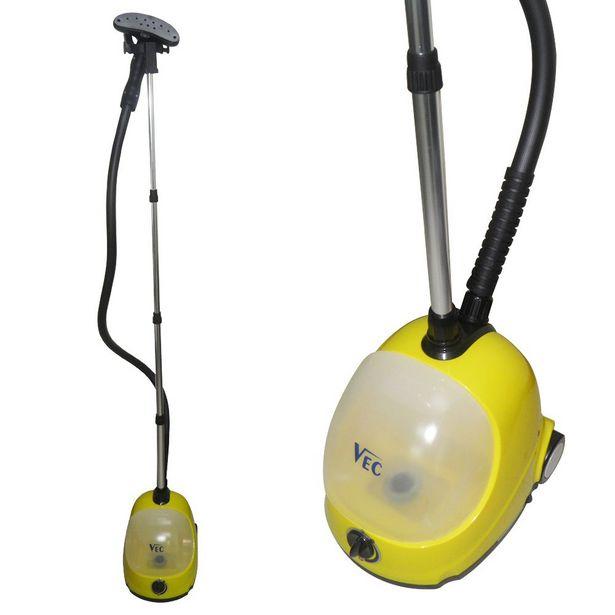Oferta de Passador de Roupa Vaporizador Ferro de Passar Vertical Limpeza Vapor Higienizador por R$398,95