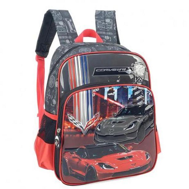 Oferta de Mochila de Costas Corvette Luxcel IS33121CV por R$51,9