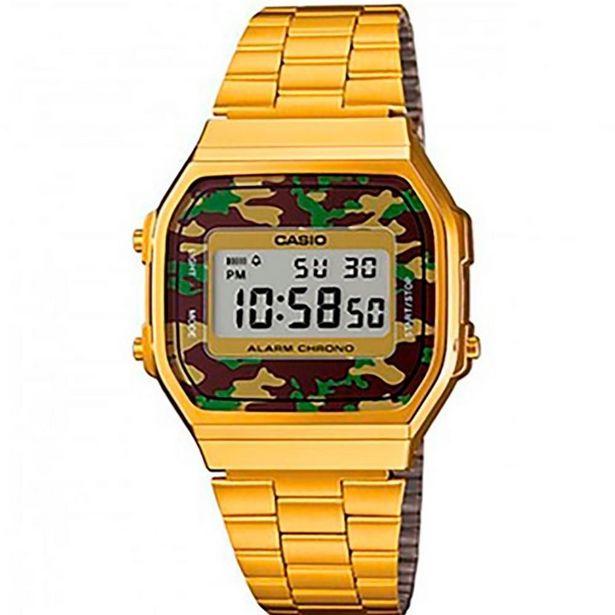 Oferta de Relógio Vintage Military Casio A168wegc-3df por R$369,9