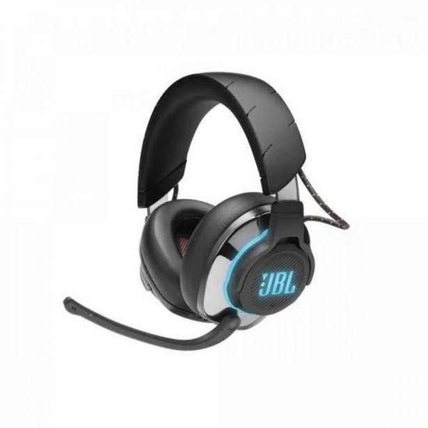 Oferta de Headset Gamer Bluetooth RGB Quantum 800 Preto JBL por R$1329