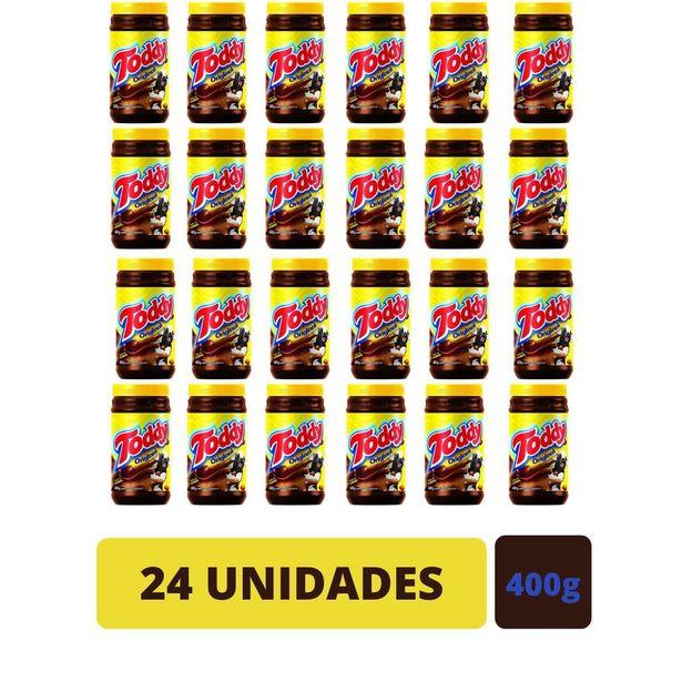 Oferta de Kit 24 Achocolatado Em Pó Toddy Chocolate Pote 400g por R$179,8