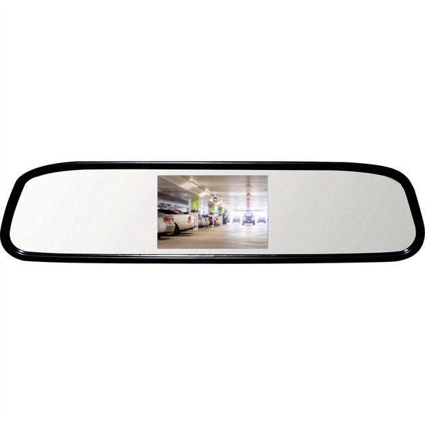 Oferta de Espelho Retrovisor Interno Com Câmera De Ré Preto Rs-501br Roadstar por R$238,99