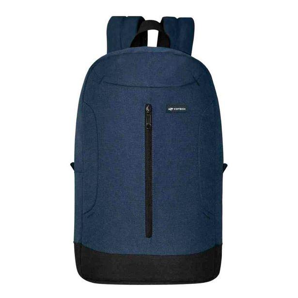Oferta de Mochila C3Tech Dublin - Para Notebooks de Até 15.6'' - MC-20BL - Azul por R$199,9