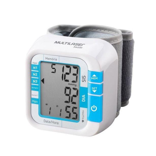Oferta de Monitor de Pressão Arterial Digital de Pulso Multilaser Hc204 por R$134,9