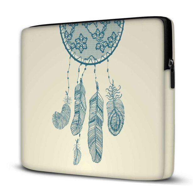 Oferta de Capa Para Notebook Filtro dos Sonhos 15 Polegadas Com Bolso por R$77,94