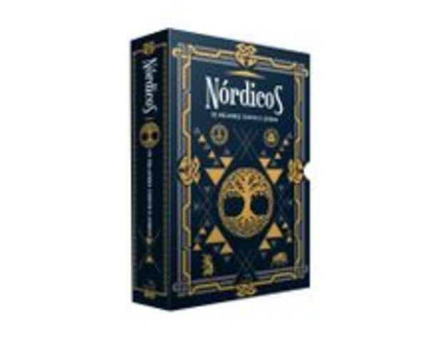 Oferta de Box - Nórdicos - Os Melhores Contos e Lendas - 2 Volumes - Acompanha Marcador De Páginas por R$27,9