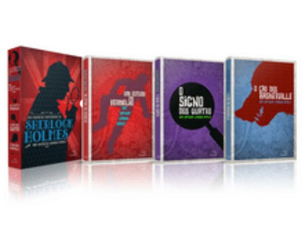 Oferta de Box -  As Grandes Histórias De Sherlock Holmes - 3 Volumes por R$34,9