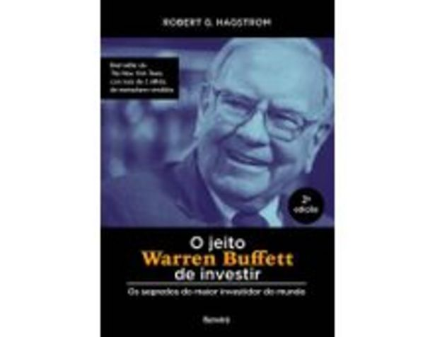 Oferta de O Jeito De Warren Buffett De Investir - Os Segredos do Maior Investidor do Mundo - 2ª Ed. 2019 por R$42,9