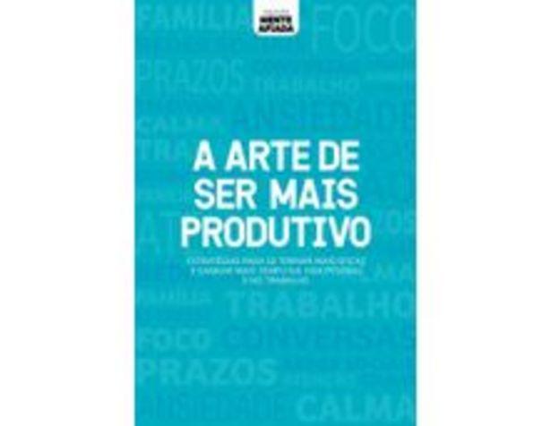 Oferta de A Arte De Ser Mais Produtivo - Coleção Mente Afiada por R$5