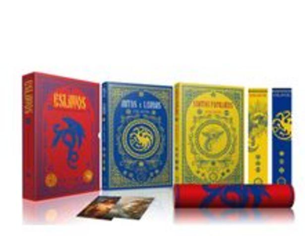 Oferta de Box Eslavos - Os Melhores Contos e Lendas - 2 Volumes + Pôster + Marcadores por R$36,9