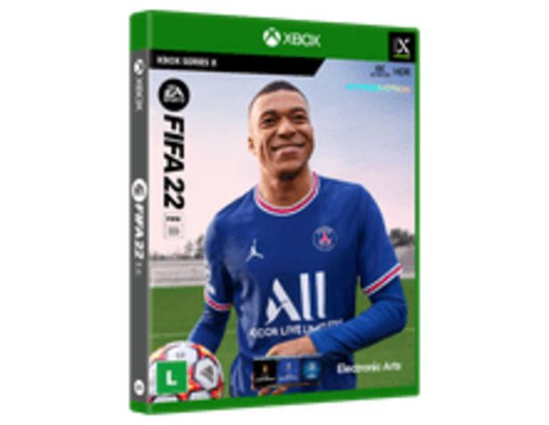 Oferta de FIFA 22 BR XBSX por R$369,9