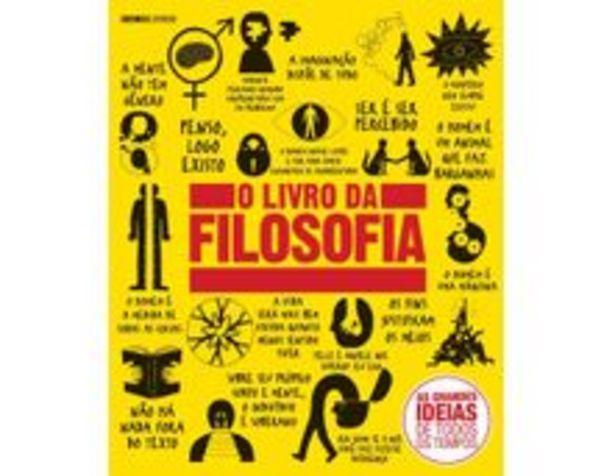 Oferta de O Livro da Filosofia -  Col. Grandes Ideias por R$50,9