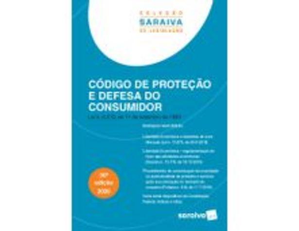 Oferta de Código De Proteção e Defesa do Consumidor - 30ª Ed. 2020 Coleção Saraiva De Legislação por R$27,9