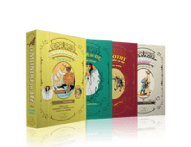 Oferta de Box - O Mágico De Oz - 3 Volumes - Acompanha 1 Pôster e Marcadores por R$34,9