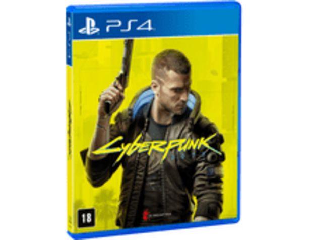 Oferta de Cyberpunk 2077 - PS4 por R$223,9