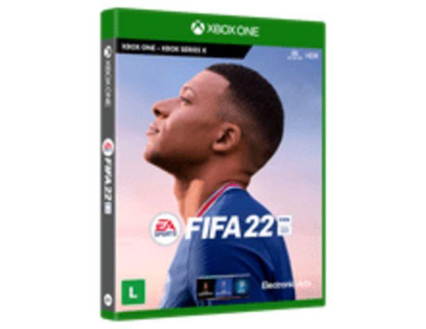 Oferta de FIFA 22 BR XONE por R$299,9