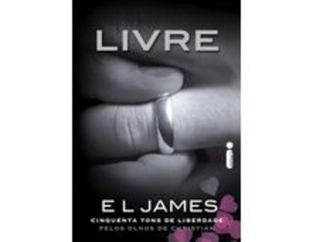 Oferta de Livre Cinquenta Tons de Liberdade Pelos Olhos de Christian Grey por R$56,9