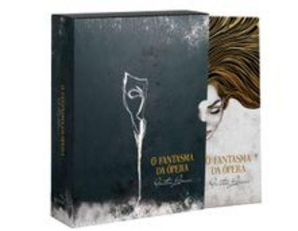 Oferta de Box - O Fantasma da Ópera - 1 Volume - Capa Dura + Brindes por R$34,9