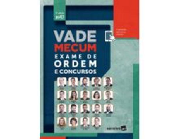 Oferta de Vade Mecum Exame De Ordem - 3ª Edição 2021 por R$165,9