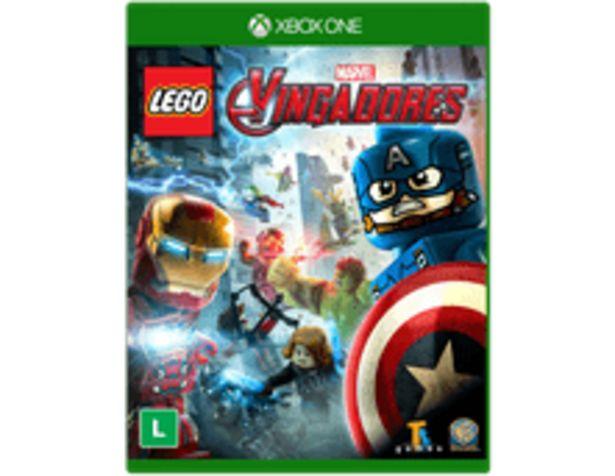 Oferta de Lego Marvel Vingadores - Xbox One por R$95,9