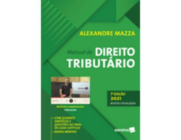 Oferta de Manual De Direito Tributário - 7ª Edição 2021 por R$140,9