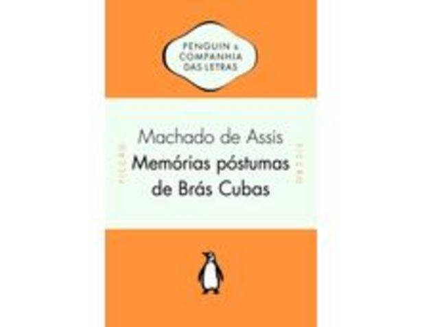 Oferta de Memórias Póstumas de Brás Cubas por R$29,9
