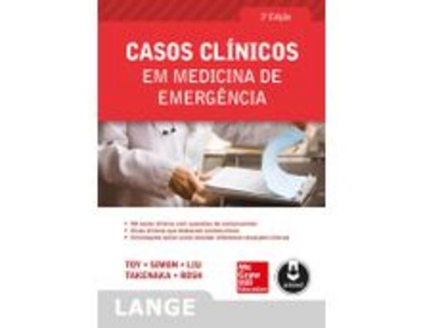 Oferta de Casos Clínicos Em Medicina de Emergência - 3ª Ed. 2014 por R$122,9