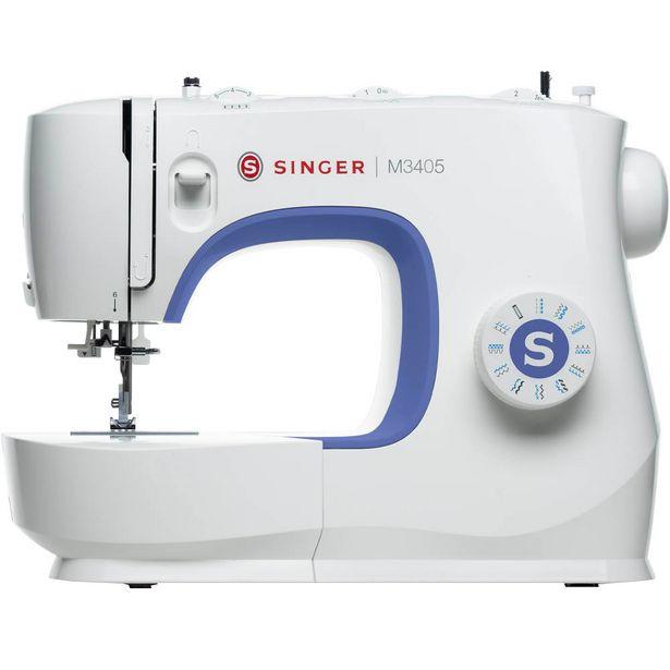 Oferta de Máquina de Costura Singer M3405 23 Pontos - Branco por R$1215