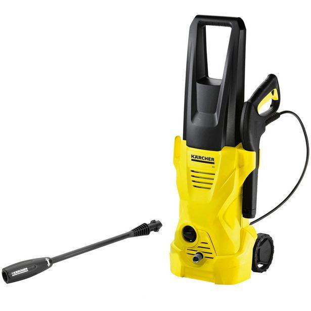 Oferta de Lavadora Alta Pressão Karcher K2 1600PSI Motor Universal 1200W - Amarelo por R$453