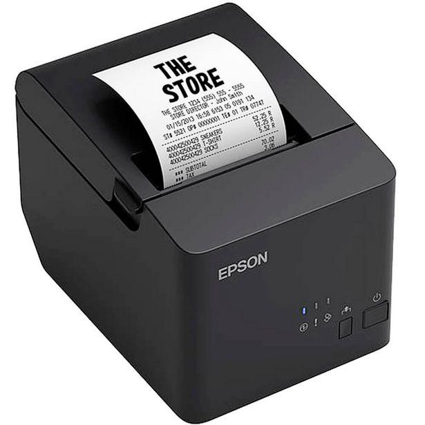 Oferta de Impressora Epson TM-T20X Térmica Preto USB - Preto por R$739