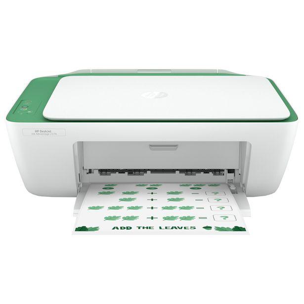 Oferta de Impressora Multifuncional Jato de Tinta HP Ink Advantage Colorido - Branco por R$429