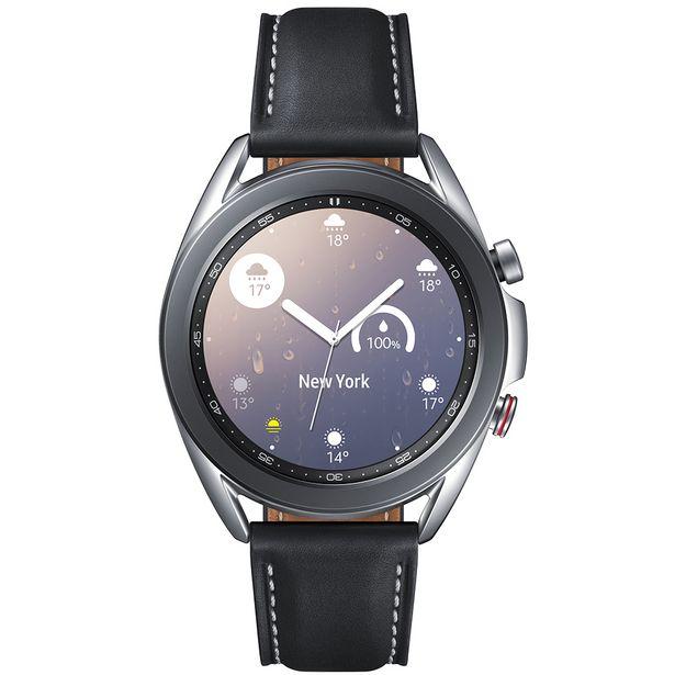 Oferta de Relógio Smartwatch Samsung Galaxy Watch3 LTE Bluetooth SM-R855F - Prata por R$2602