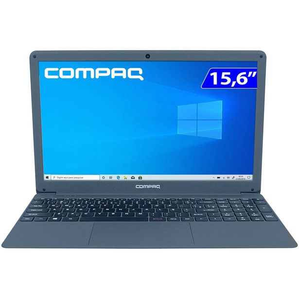 "Oferta de Notebook Compaq Presario CQ-29 i5 W10 8GB 480GB SSD 15.6"" Full HD LED - Preto por R$4647"