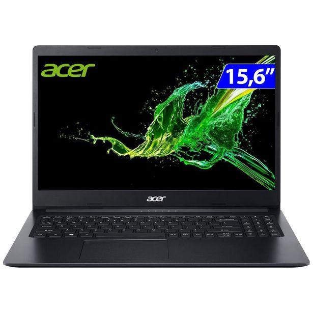 """Oferta de Notebook Acer Aspire 3 Intel Celeron Endless OS 4GB 1TB HD 15.6"""" - Preto por R$2811"""