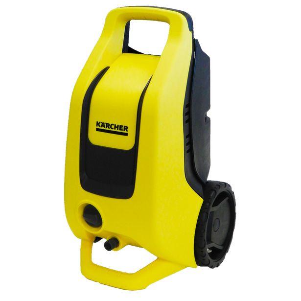 Oferta de Lavadora Alta Pressão Karcher K3 1740PSI com Rodízios 1500W - Amarelo/Preto por R$544