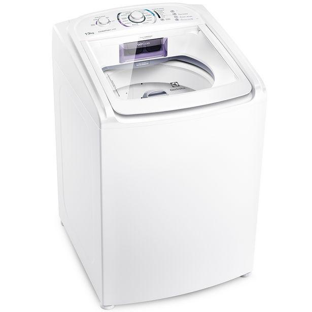 Oferta de Máquina de Lavar Electrolux Essencial Care 13kg Automática Turbo LES13 - Branco por R$1899