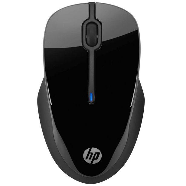 Oferta de Mouse sem Fio HP 250 USB até 1600dpi Sensor Óptico - Preto por R$123
