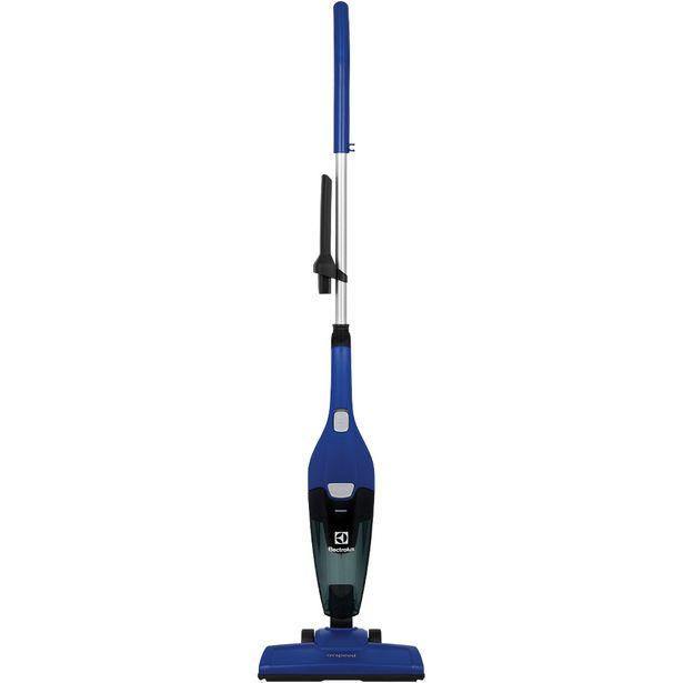 Oferta de Aspirador Vertical Electrolux Airspeed Pó 600W - Azul por R$195
