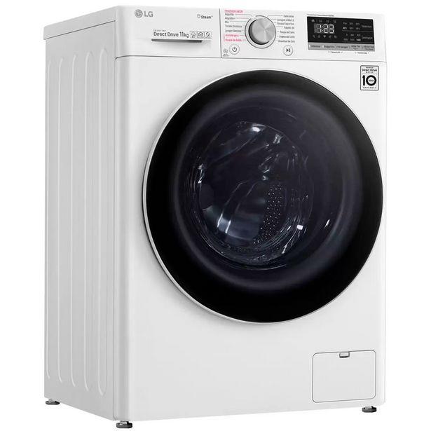 Oferta de Máquina de Lavar LG Vivace Front Load 11kg Inteligência Artificial - Branco por R$3363