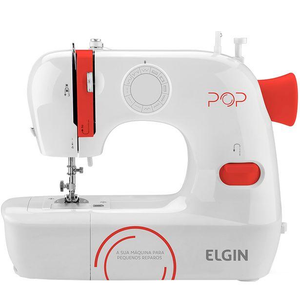 Oferta de Máquina de Costura Elgin BL-1009 9 Pontos - Branco por R$504