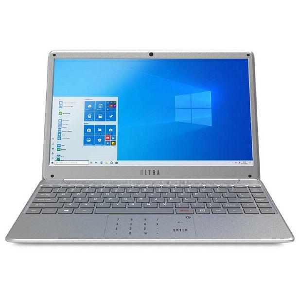 """Oferta de Notebook Multilaser Ultra i3 Linux  1TB HDD 4GB 14.1"""" UB422 - Prata por R$3233"""