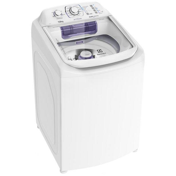 Oferta de Máquina de Lavar Electrolux 12Kg Automática  Cesto Inox LAC12 - Branco por R$2275