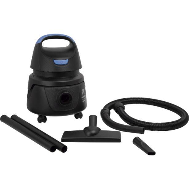 Oferta de Aspirador Electrolux Hidrolux Pó e Água 1250W Função Sopro AWD01 - Preto por R$292